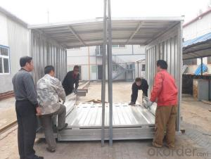 Galvanzied Steel  Storage Prefabricated House