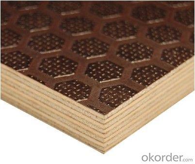 Brown Anti-slip Film Faced Plywood Formworkan