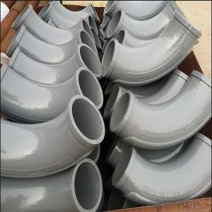 concrete pump elbow two layer wear resistant