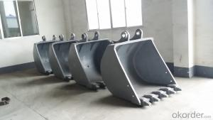 casting excavator bucket (not teeth )