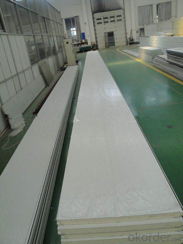 Insulated sandwich panel panels