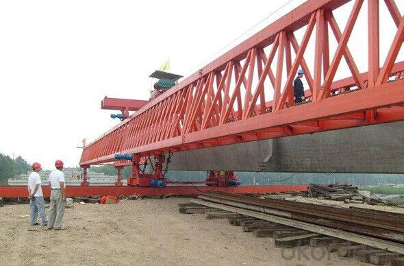 Easy Installation Whole Span Segment Launching Gantry