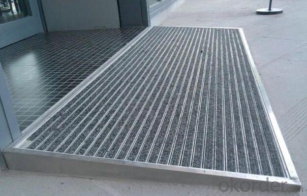 AntI Slip Mat with Aluminum Alloy Base for Shopping Malls