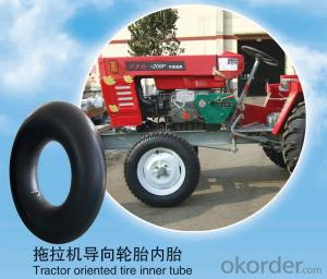 Tractor Natural Tube 4.00-8 oriented/driving tire