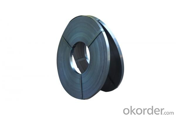 black/blue/galvanized steel packing strip -steel strip
