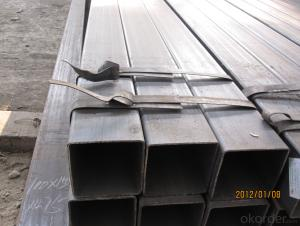 Rectangular Hot Rolled Steel Pipe With High Quality