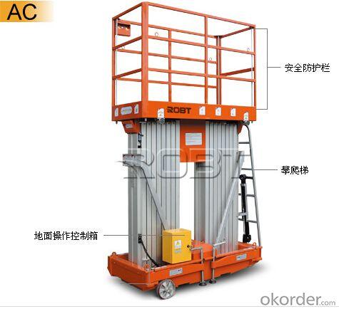 Mobile Aluminium platform serie 2