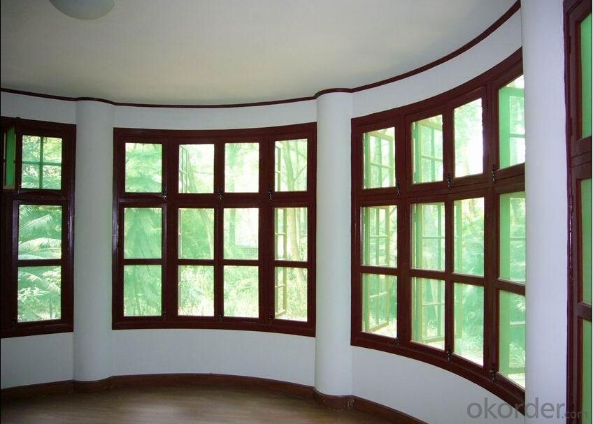 Solid Wood Double Glazed Windows Manufactory