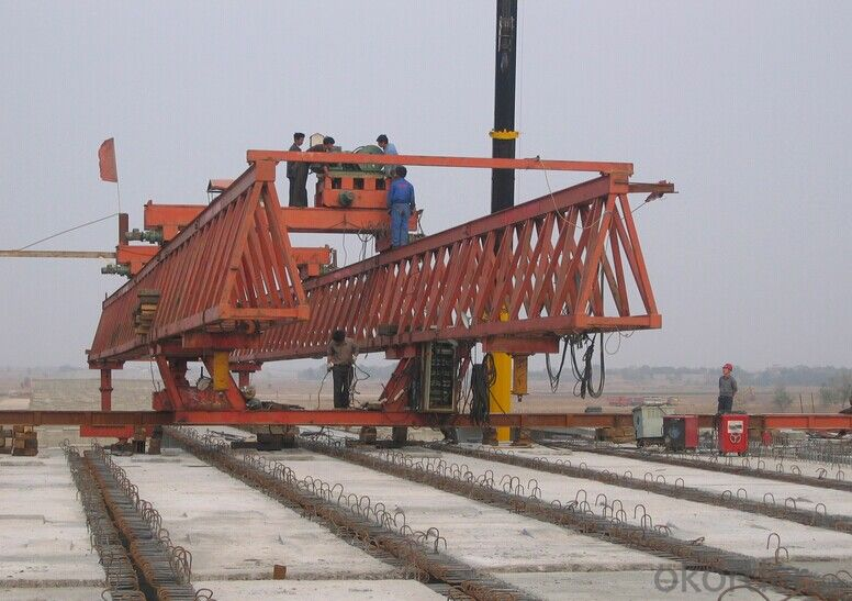 Whole Span Segment Launching Gantry with High Quality