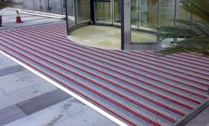 Commercial Aluminium Door Mats for Supermarket
