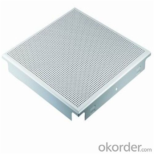 Perforated Clip in Aluminium Ceiling