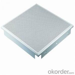 Perforated Clip in Aluminium Ceiling