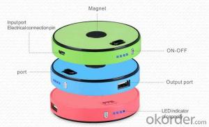 Stackable Mobile Power Bank Whole colour