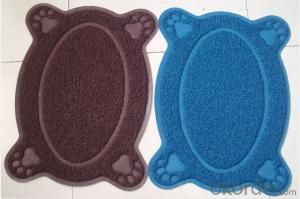 plastic pet mat,pet lovely mat