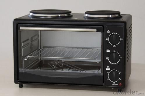 Electric Oven with Rotisserie and Convection Functions