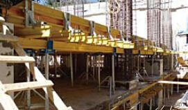 Steel Prop & Beam Clamp formwork and scaffolding system