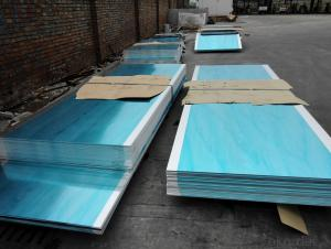 Aluminum Sheets with Mill Finished Surface AA5XXX for Energy Saving Curtain Walls