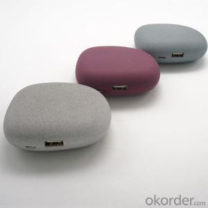 Stone Shape Portable Power Bank