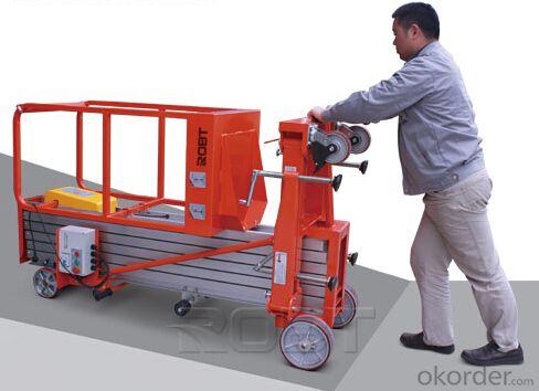 Portable aluminium platform