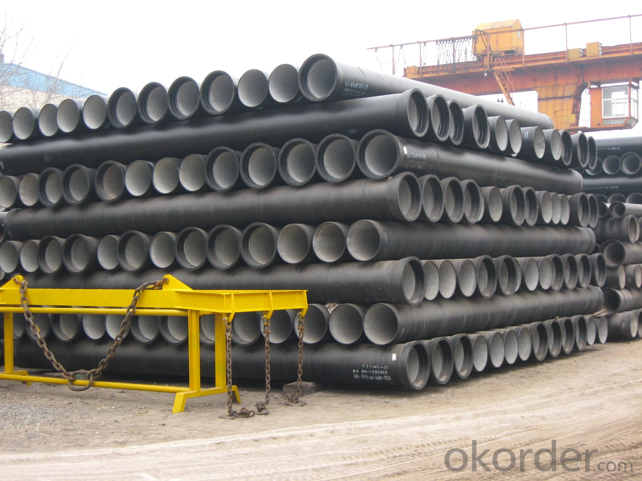 DUCTILE IRON PIPE DN150 K8