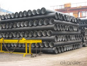 DUCTILE IRON PIPE DN125 K8