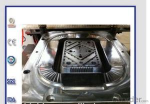 Easy controlled aluminium foil food container making machine LK-63T