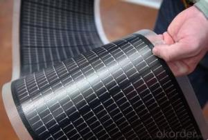 Thin Film Solar Cell with TUV/ UL/ CE/ RoHS/ IEC/ CQC/ ISO/ SFEC/ CEC Approval