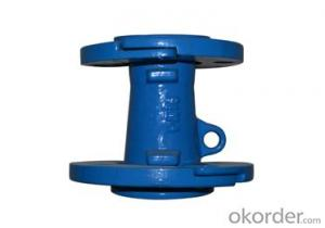 Ductile Iron Pipe Fitting DCI  Double Loose Flanged Taper