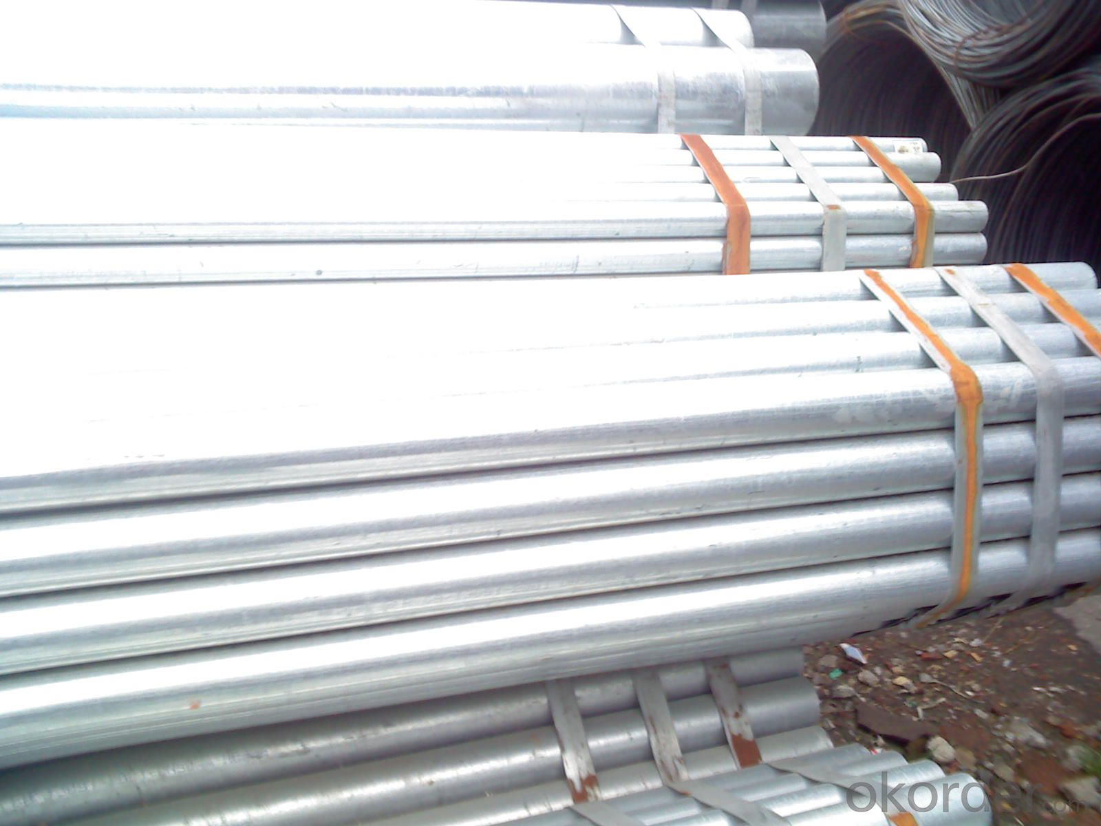 Water gas galvanized iron steel tube
