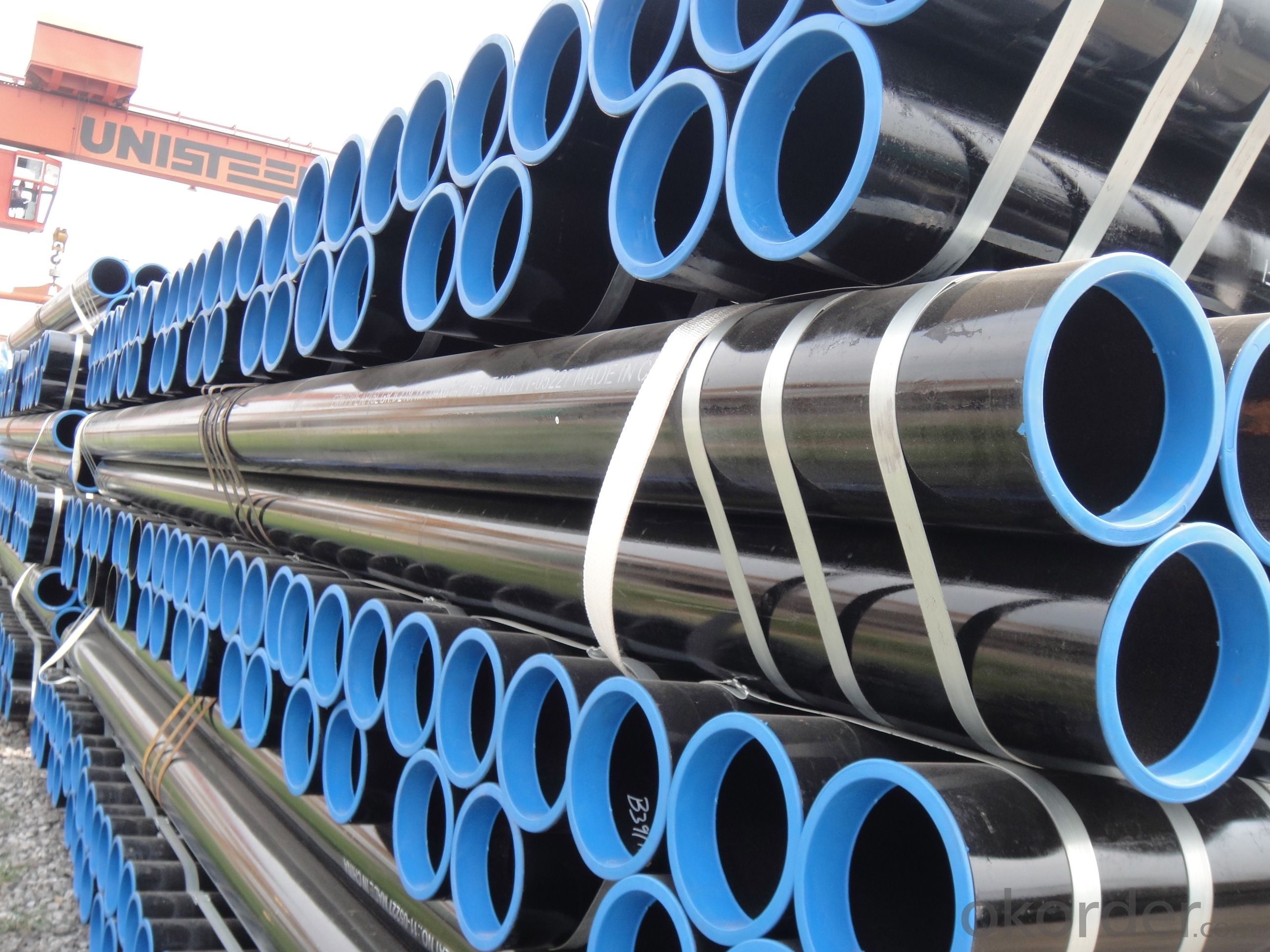 ERW Welded Steel Pipe with good Quality