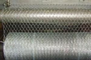 Galvanized Hexagonal Wire Mesh 0.46 mm Gauge