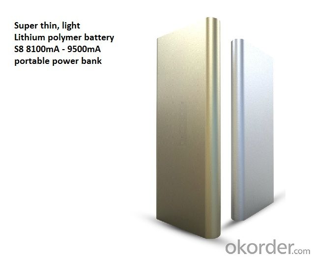 Portable Power Bank 8100 mha