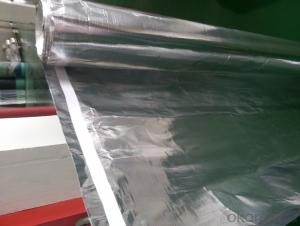 aluminum foil woven fabric with tape