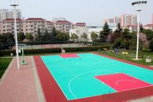 Fast assembly, sports flooring, plastic flooring