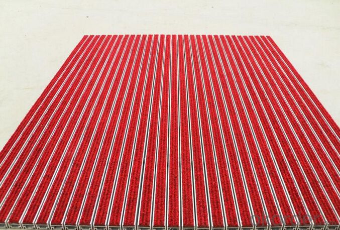 anti-dust aluminum alloy ground mat