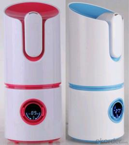 Cylinder Home Humidifier Display Screen