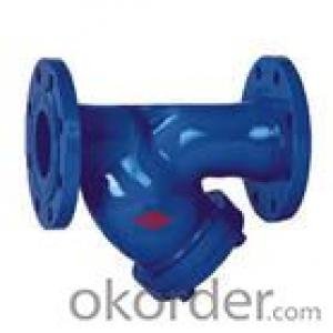 Ductile Iron  Flanged Y-Strainer