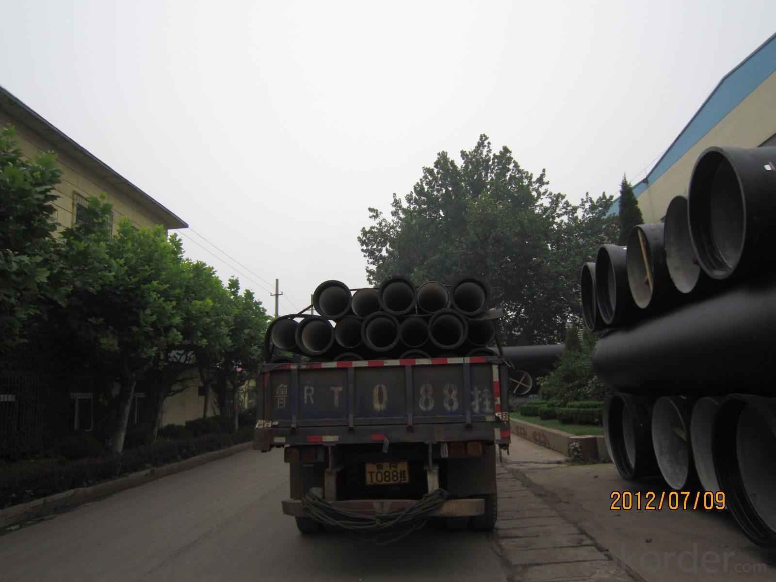 T Type Ductile Iron Pipe DN500
