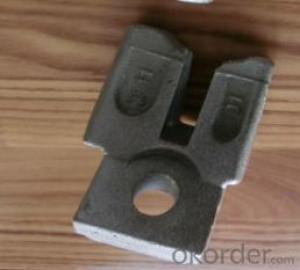Plettac cast steel ledger brace end