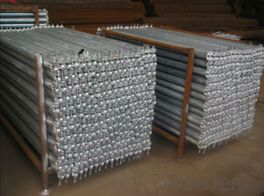 Ringlock scaffold ledger end