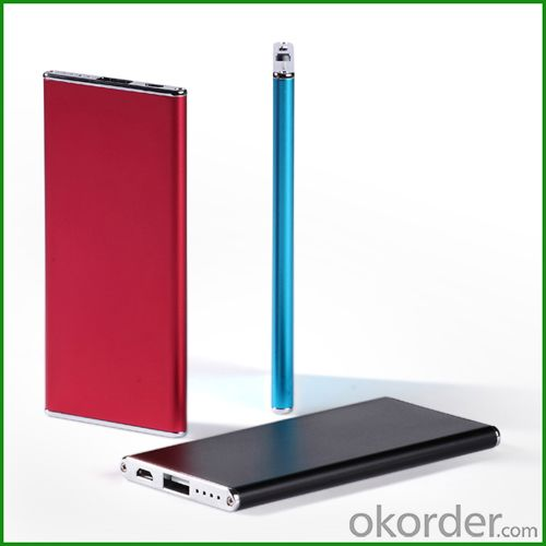 Factory OEM Slim Portable Mobile Power Bank