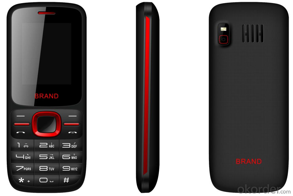 Feature Mobile Phone with 1.8 inch QVGA Display