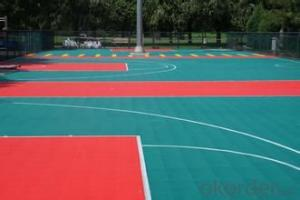 Sports flooring Material PP artificial floor