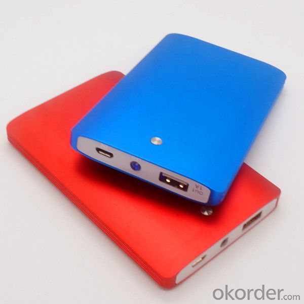 Newest Portable Mobile USB Power Bank with LED Lights