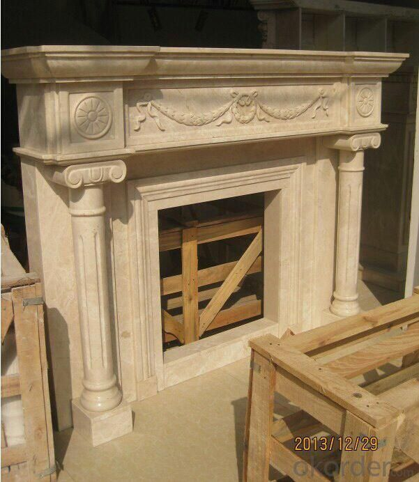 Fire place made from Marble