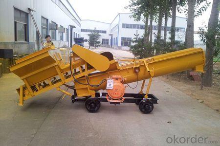 LYP-10 continuous feeding concrete mixer