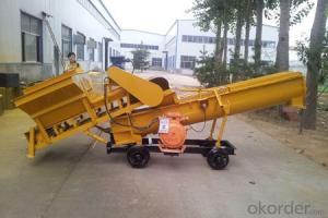 LYP-10 continuous feeding concrete mixer