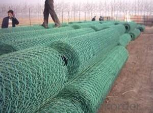 PVC Hexagonal Wire Mesh 0.5 mm Gauge