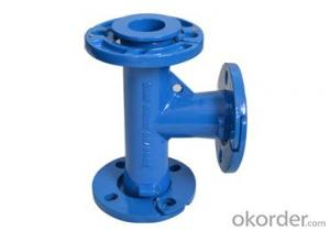 Ductile Iron  Pipe Fitting ISO2531 All Loose Flange Tee Big Size