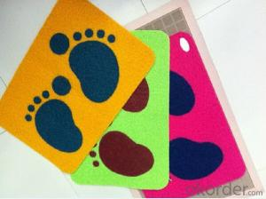 durable washable PVC Door Mat